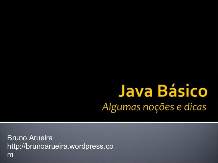 Bruno Arueira http://brunoarueira.wordpress.com