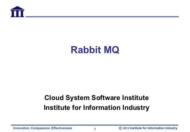 Rabbit MQ introduction
