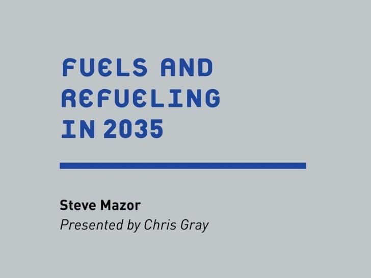 The Car in 2035: Mobility Planning for the Near Future (Kati Rubinyi/Chris Gray) - ULI fall meeting - 102711