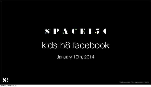 Kids H8 Facebook