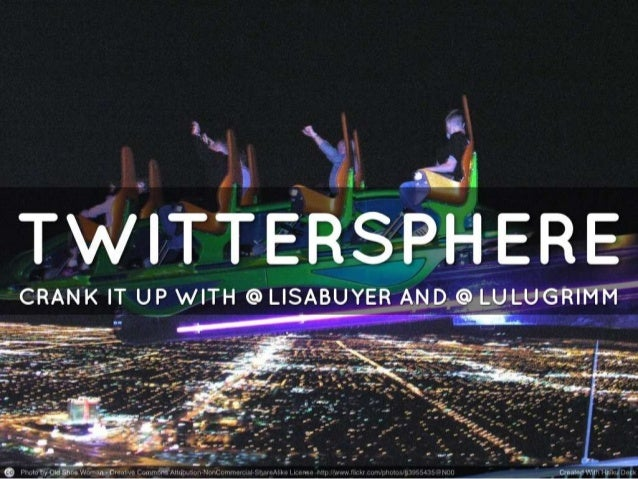 Covering…• Twitter refresh• Opportunity• Strategy• Content• Visuals• Timing• Structure• Platforms• Measurement@lulugrimm |...