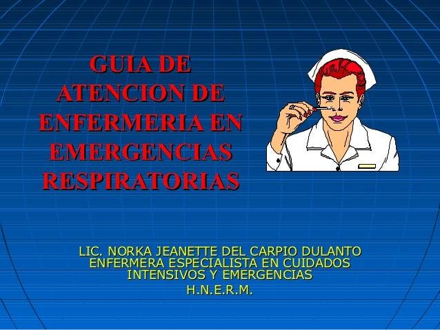 Pacientes con insuficiencia respiratoria aguda - CICAT-SALUD