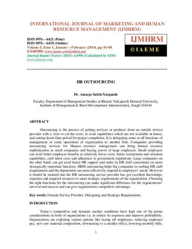 International Journal of Marketing and Human Resource Management (IJMHRM), ISSN 0976 INTERNATIONAL JOURNAL OF MARKETING AN...