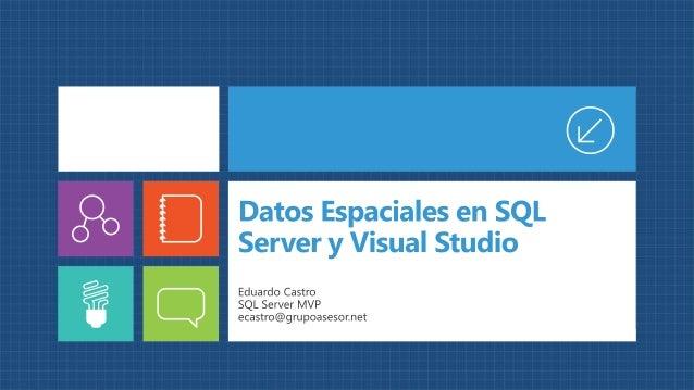 Datos espaciales con SQL Server 2012