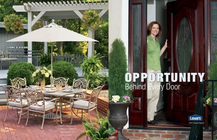 OppOrtunity Behind Every Door                        2007 Annual Report