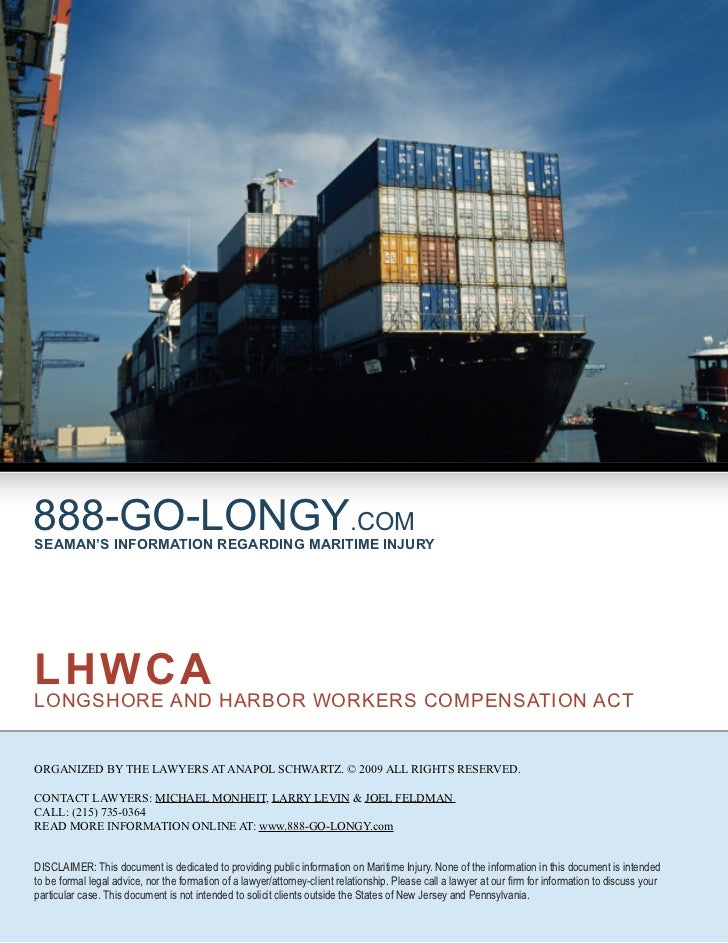 Longshore & Harbor Workers Act