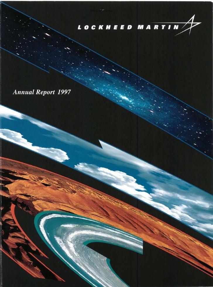 lockheed martin 1997 Annual Report