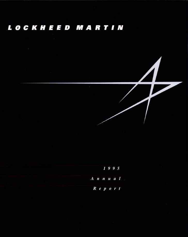 lockheed martin 1995 Annual Report