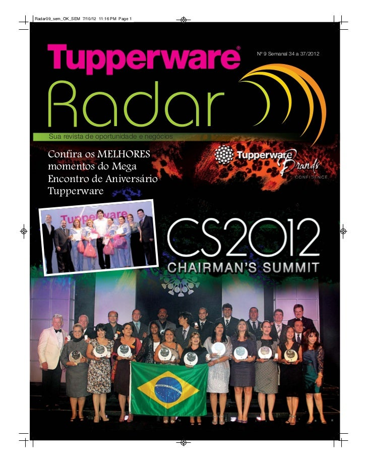Radar Tupperware  09/2012