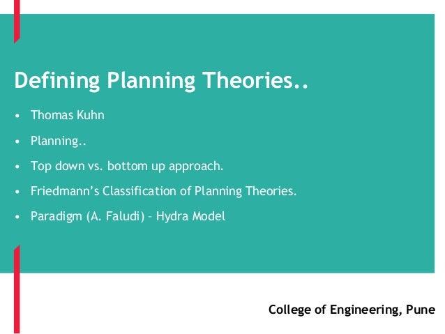 103 Planning Theory i