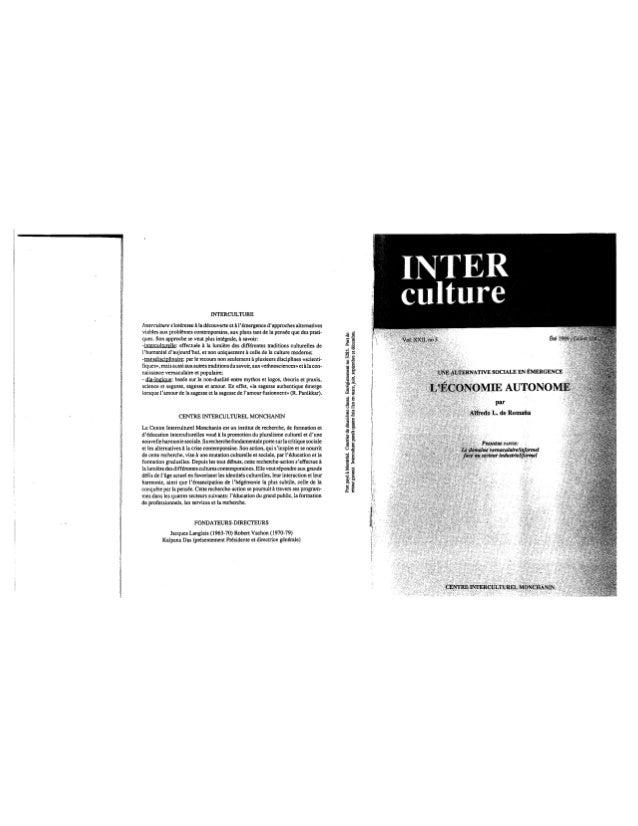 104 l'économie autonome. cahier i. a. de romaña. (document à télécharger en format pdf, 4,9 mb)