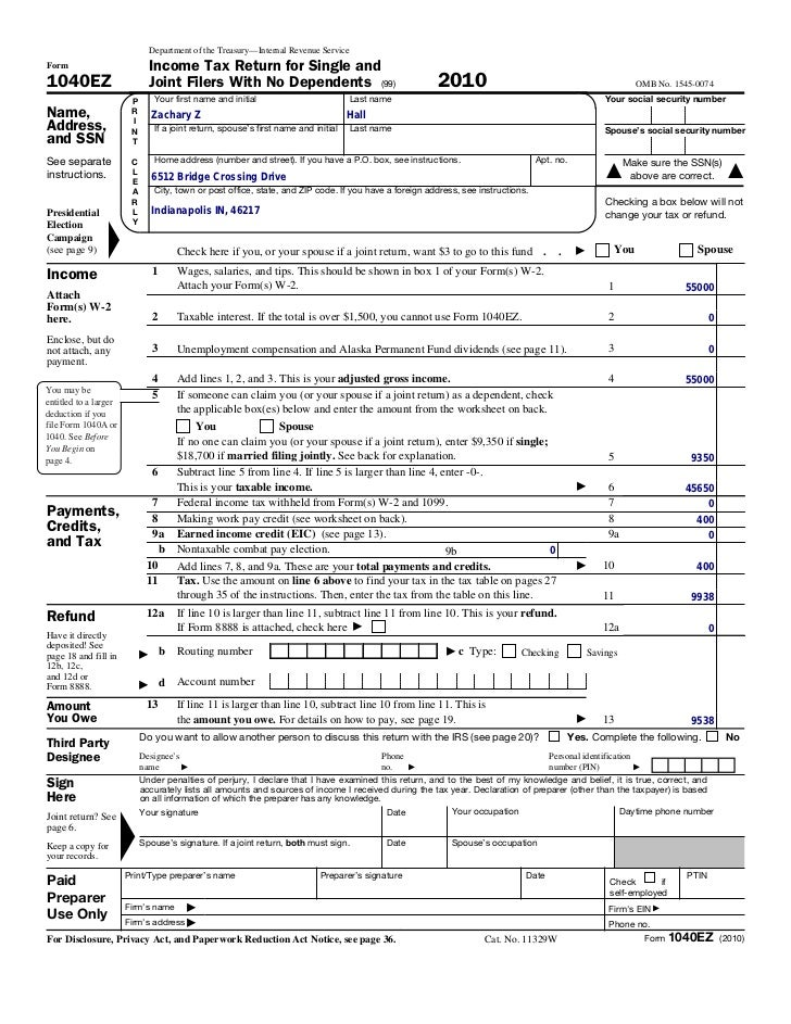 2014 tax form 1040ez quotes for 1040ez tax table 2012