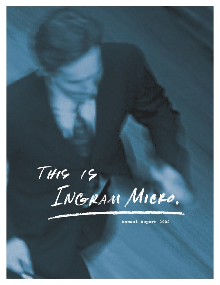 ingram micro Annual Report 2002