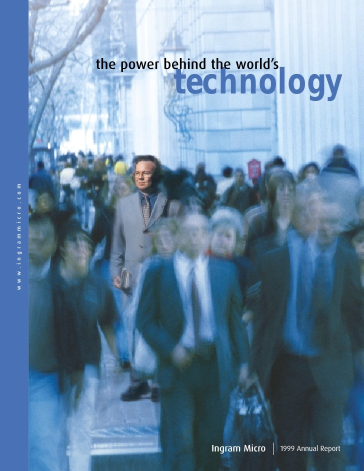 the power behind the world's                                  technology www.ingrammicro.com                              ...