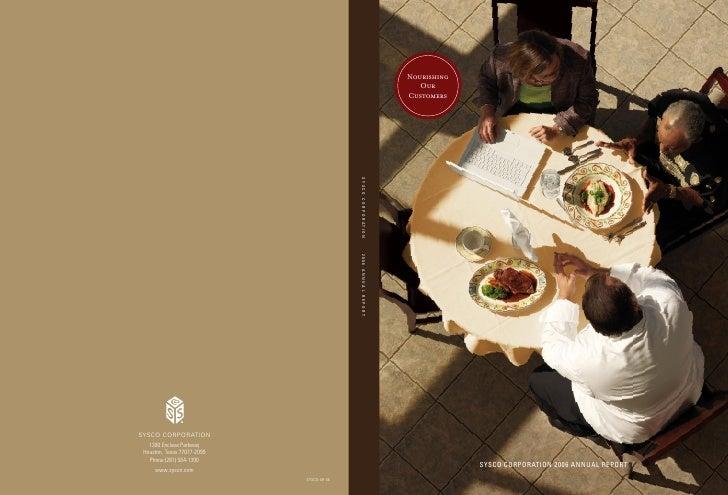sysco Annual Reports2006