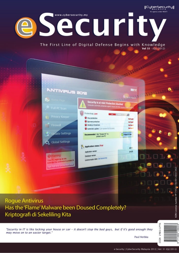 iie-Security | Vol: 31-(Q2/2012)© CyberSecurity Malaysia 2012 - All Rights Reserved