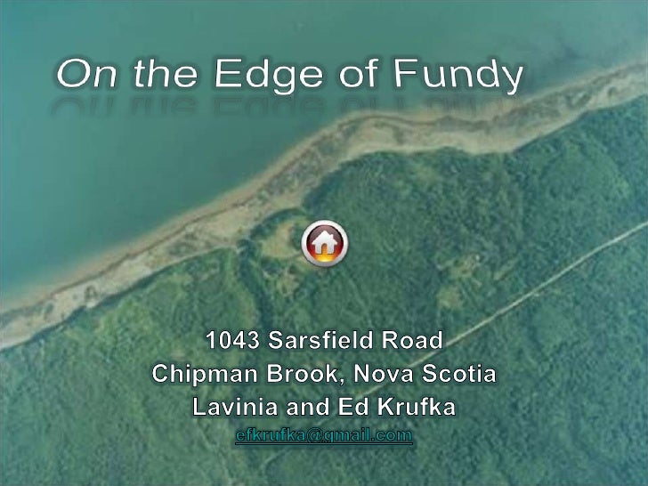 On the Edge of Fundy Vacation Home