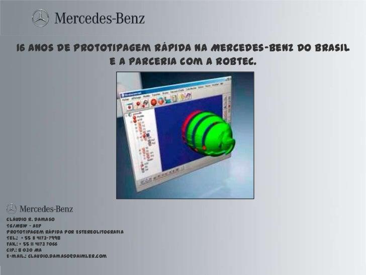 MERCEDES BENZ - SLA e SLS: Um fator de sucesso na Mercedes Benz