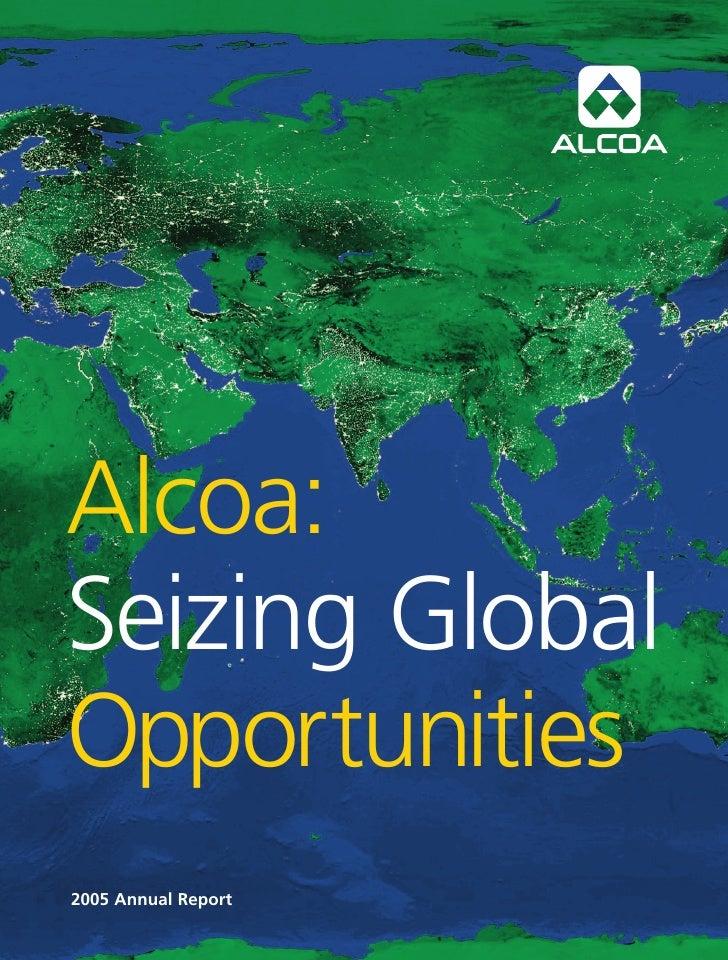 alcoa Annual Reports 2005