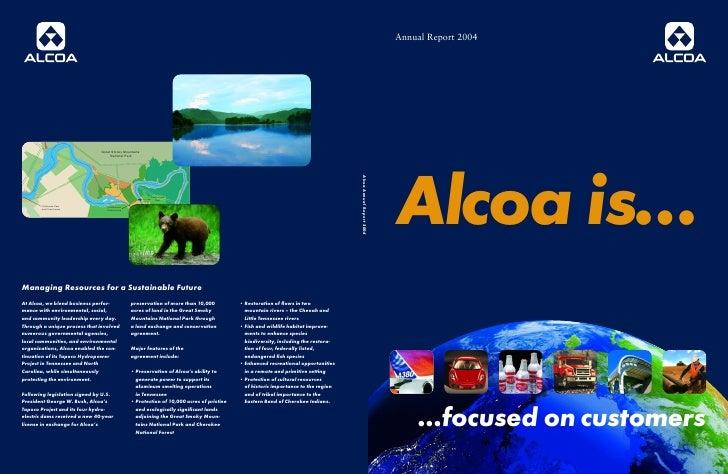 alcoa Annual Reports 2004