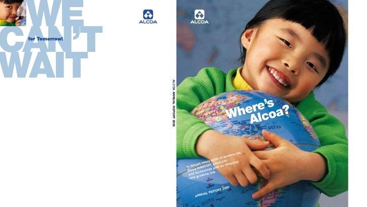 alcoa Annual Reports 2000
