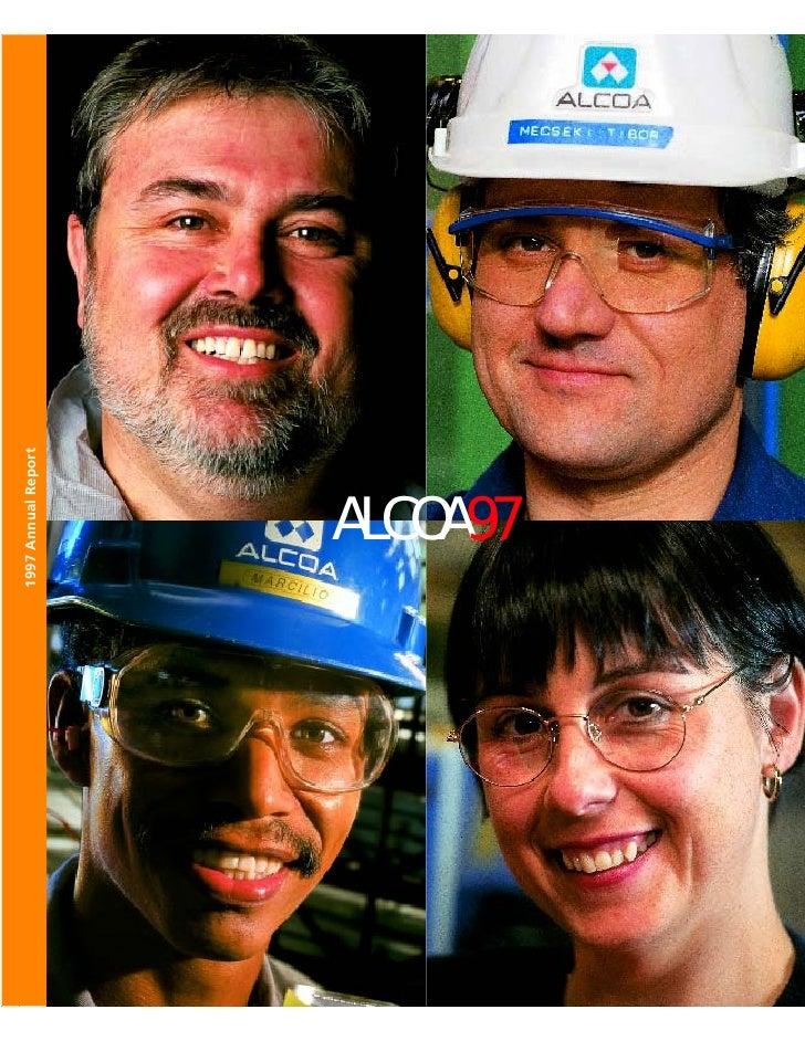 alcoa Annual Reports 1997