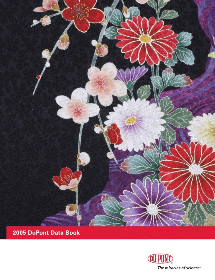 du pont 2005 Data Book