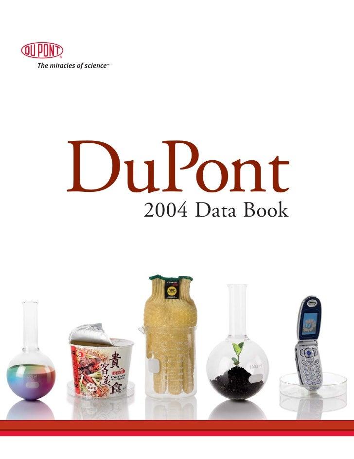 du pont 2004 Data Book