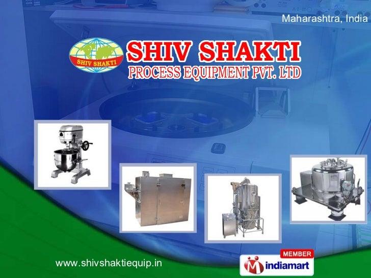 Shiv Shakti Process Equipment Private Limited Mumbai India