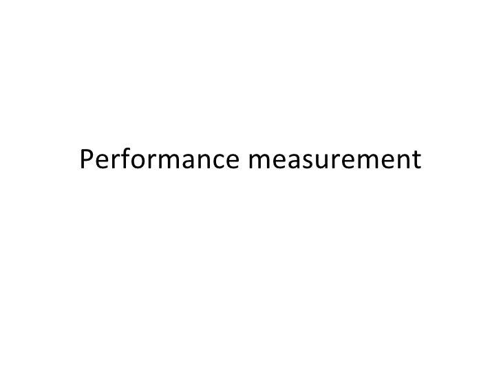 104performance measurementandbenchmarking