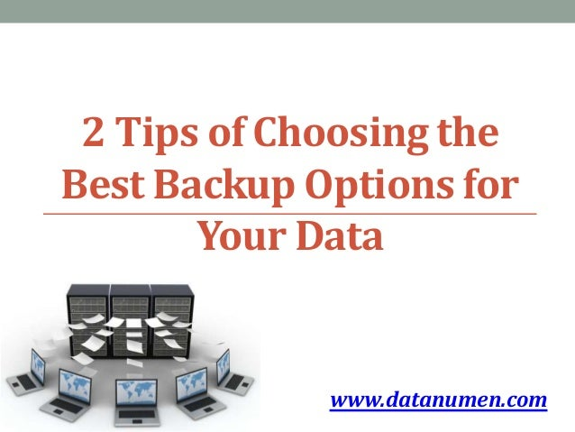 Best backup options for photos