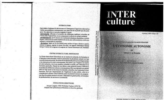 105 l'économie autonome. cahier ii. a. de romaña. (document à télécharger en format pdf, 7,4 mb)