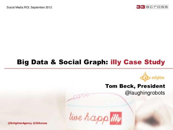 Social Media ROI, September 2012       Big Data & Social Graph: illy Case Study                                   Tom Beck...