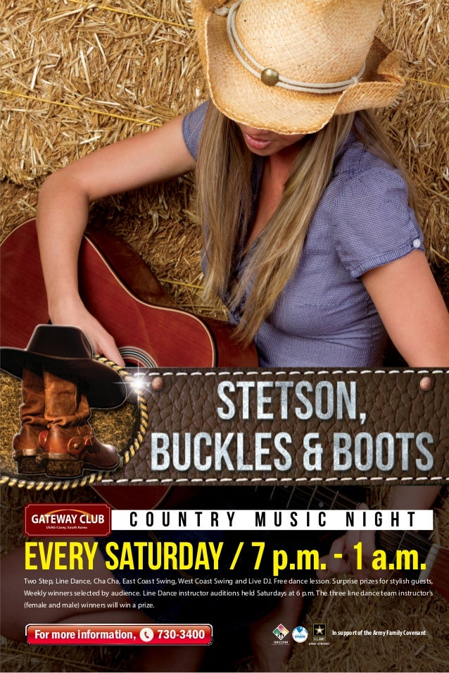 Stetson, Buckles & Boots