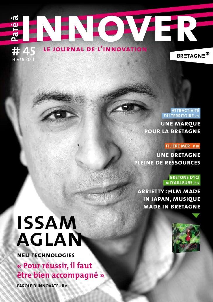 # 45     innoverParé à  hiver 2011               le journal de l'innovation                                               ...