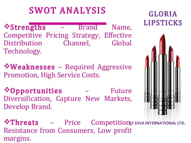 swot maybelline Marketing plan: maybelline's new perfume the university of sheffield marketing the first part of the report concludes with a swot analysis of the maybelline.