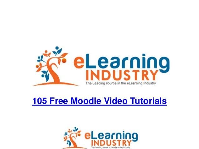 105 free moodle video tutorials