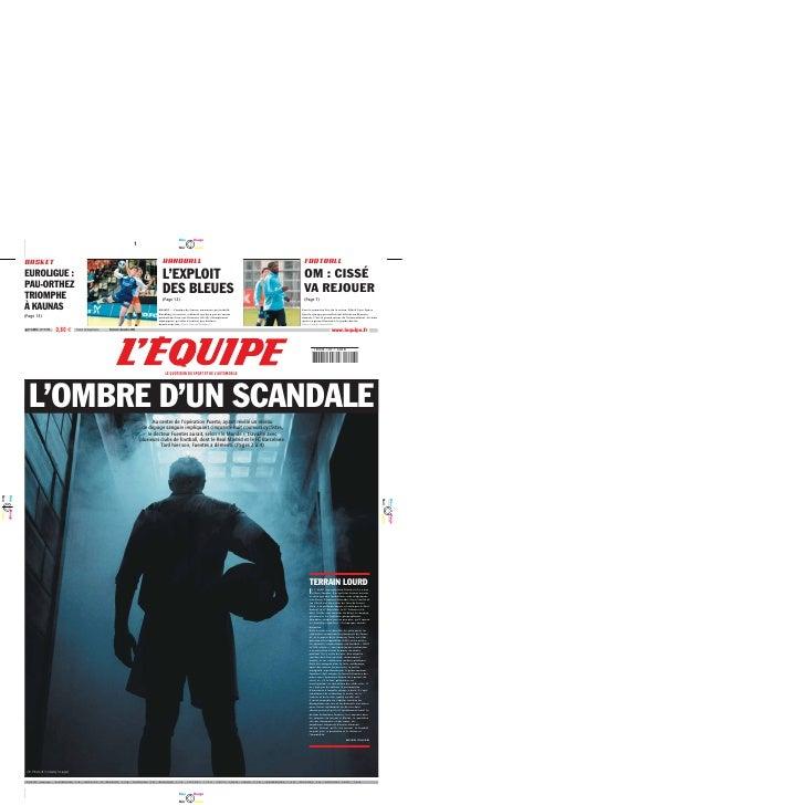 L' Équipe – 08.12.2006