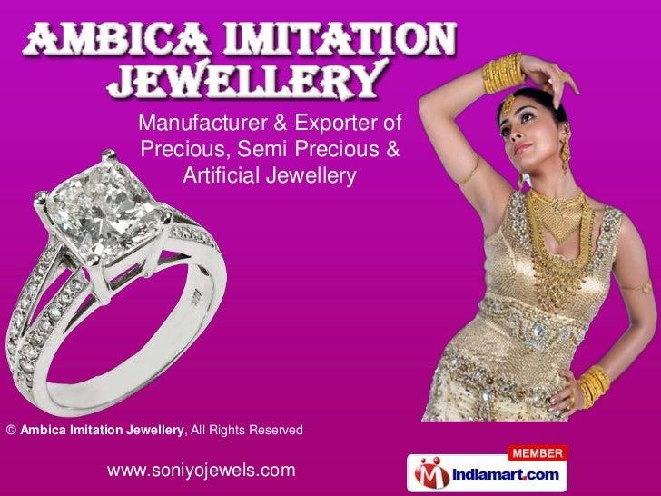 Ambica Imitation Jewellery Maharashtra  India