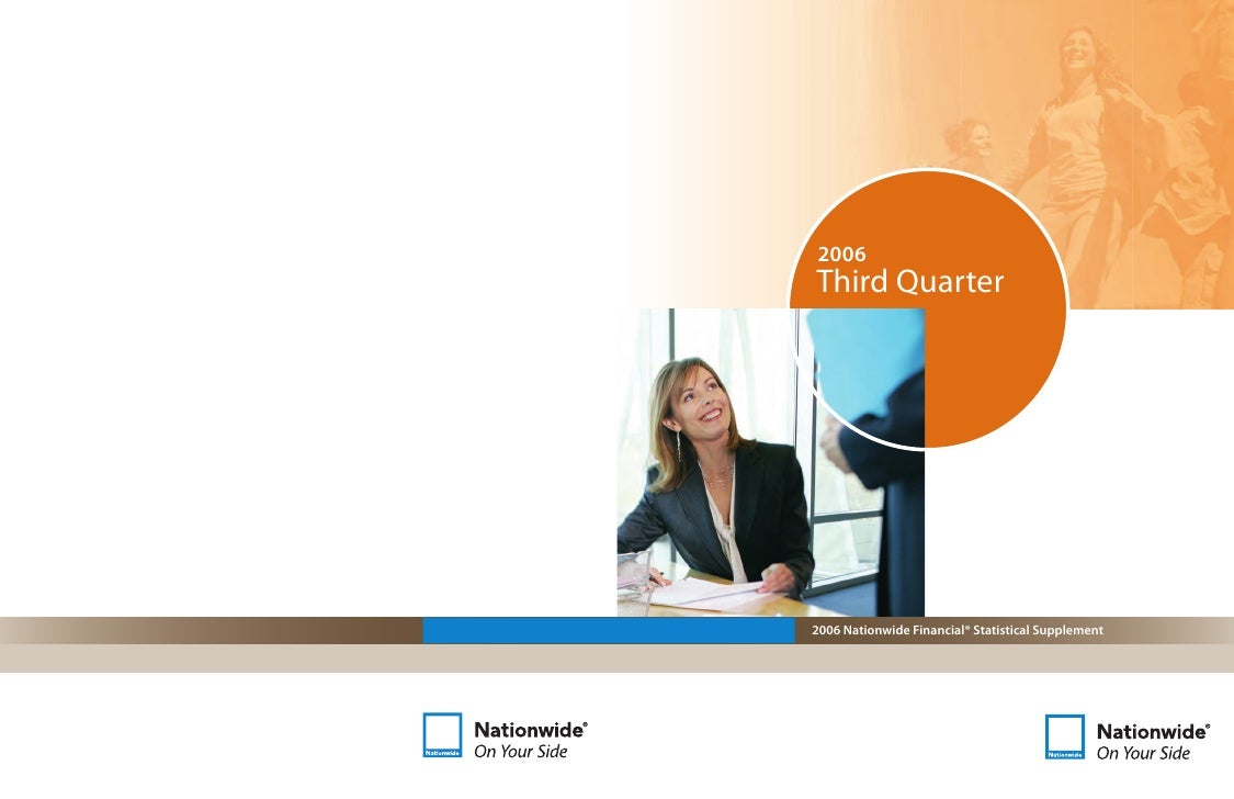 nationwide 3Q06 Statistical Supplement
