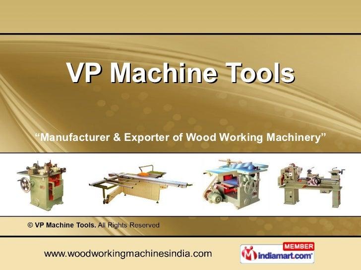 V. P. Machine Tools Tamil Nadu India