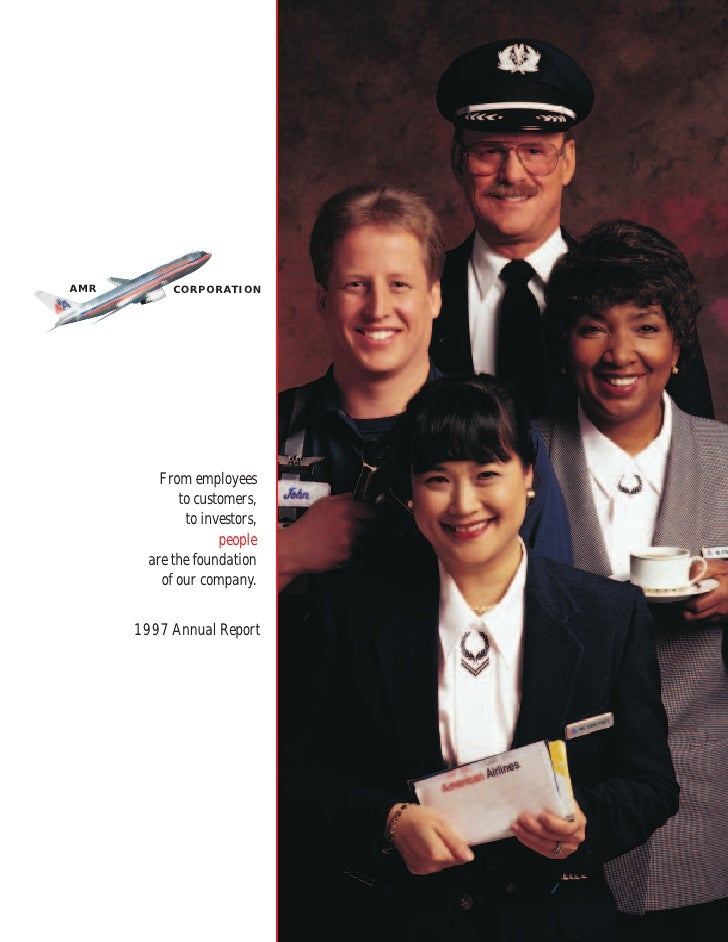 AMR Annual Report 1997