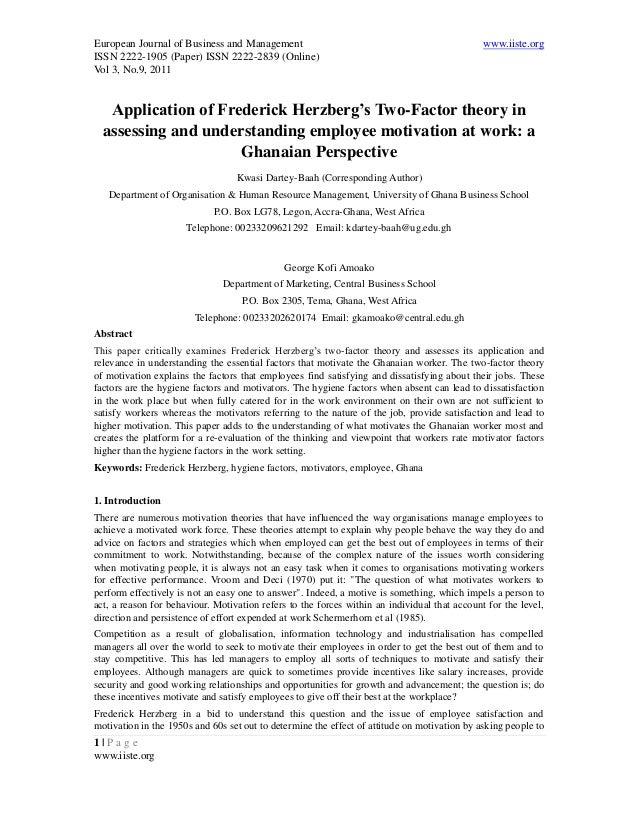 European Journal of Business and Management www.iiste.orgISSN 2222-1905 (Paper) ISSN 2222-2839 (Online)Vol 3, No.9, 20111 ...