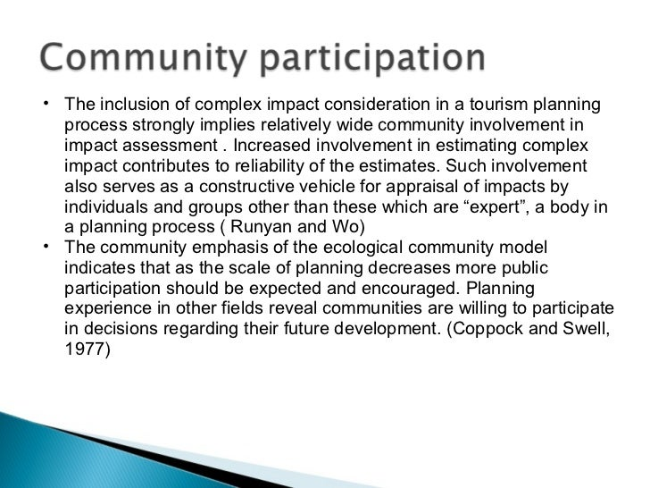 Importance community involvement essay