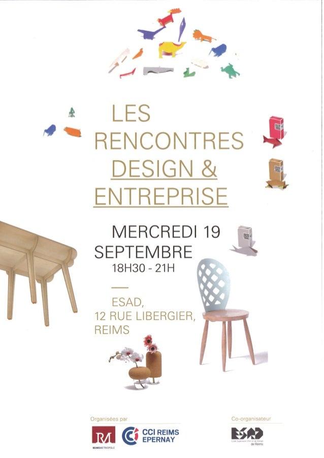 Programme - Rencontre Design et Entreprises