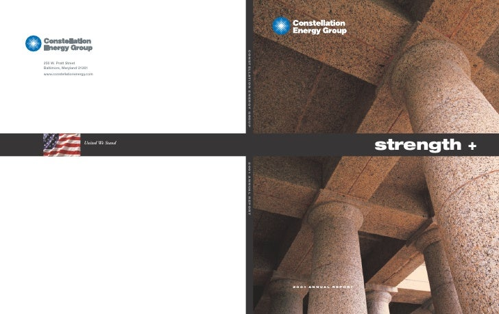strength +     2001 ANNUAL REPORT