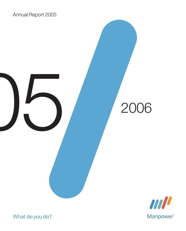 Annual Report 2005        5                 2006