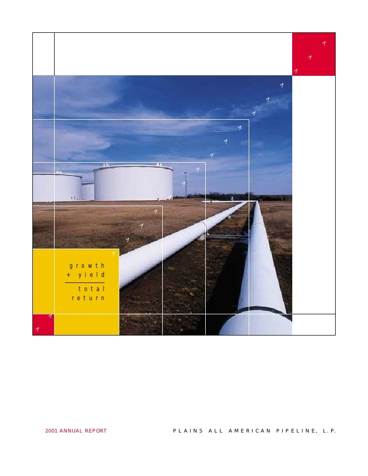 plains all american pipeline  Annual Reports 2001