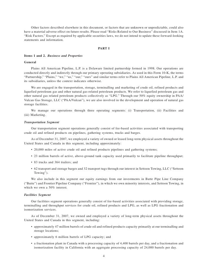 Other factors described elsewhere in this document, or factors that are unknown or unpredictable, could also have a materi...