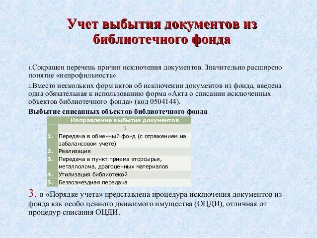 инструкция о проверке библиотечного фонда - фото 9